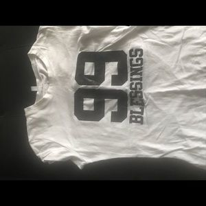 99 blessings white t-shirt